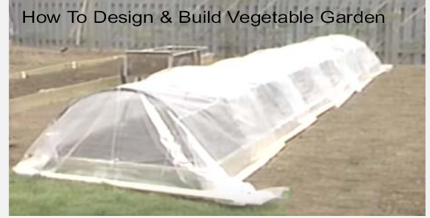 How To Design & Build a Vegetable Garden (VIDEO)